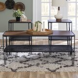 3-Piece Hairpin Leg Accent Table Set by Williston Forge