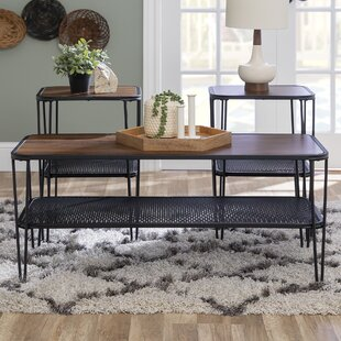 3Piece Hairpin Leg Accent Table Set by Williston Forge