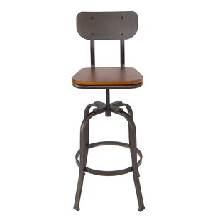 Kara Swivel Bar Stool by 17 Stories