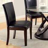Colm Upholstered Parsons Chair in Dark Walnut (Set of 2) by Alcott Hill®