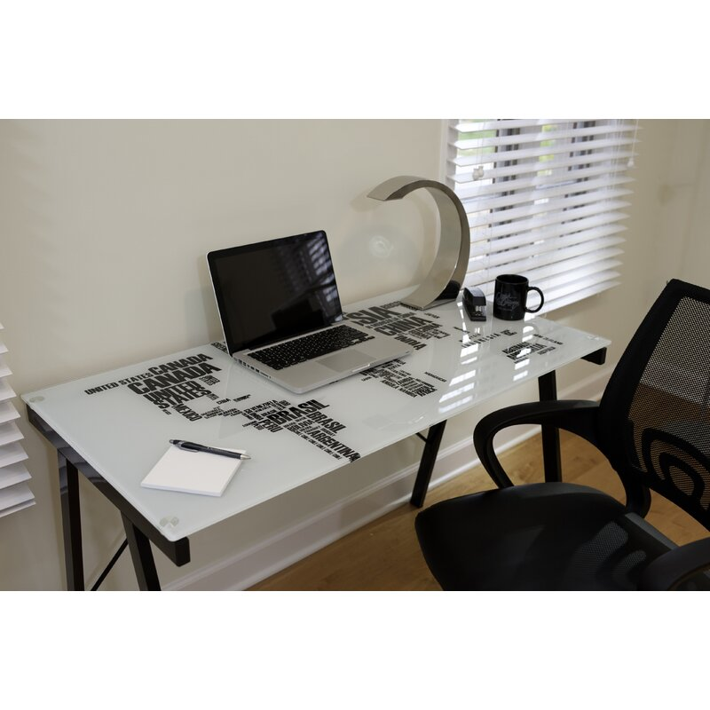 Wrought studio brighton beach world map office writing desk brighton beach world map office writing desk gumiabroncs Images