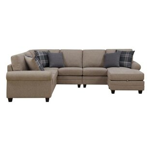 Buse Reversible Sectional with Ottoman