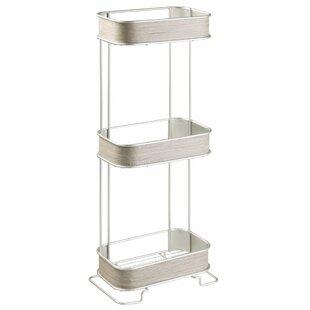 Online Reviews Realwood 3 Tier 6.4 W x 25.6 H Bathroom Shelf ByInterDesign