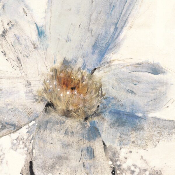 Art Effects Floral Blue I By Tim O Toole Painting Print On Wrapped Canvas Wayfair