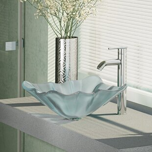 Looking for Glass Specialty Vessel Bathroom Sink with Faucet ByRené By Elkay