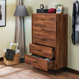 Lanita 5 Drawer Chest by George Oliver Wonderful