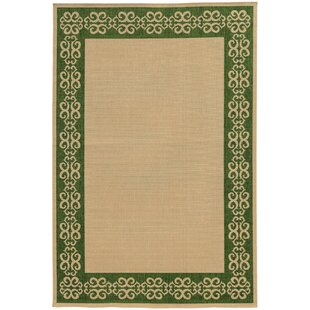 Seaside Beige/Green Area Rug by Tommy Bahama Home