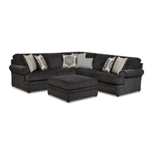 Dorothy Sectional with Ottoman by Darby Home Co