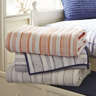 Cathleen Striped Quilt