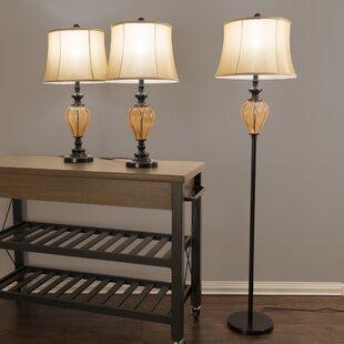 Amber Floor Lamps | Wayfair