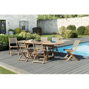 Woehler Garden 6 Seater Dining Set Image