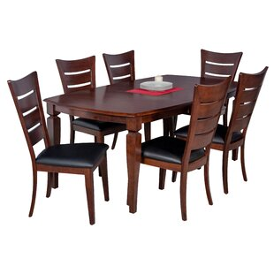 Red Barrel Studio Besse 7 Piece Dining Set