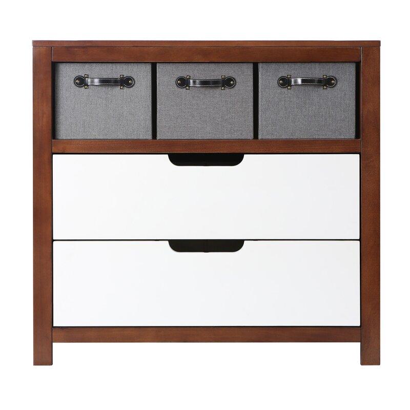 Karla Dubois Oslo 2 Drawer Combo Dresser & Reviews   Wayfair