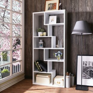 Benson Rectangular Geometric Bookcase by Brayden Studio