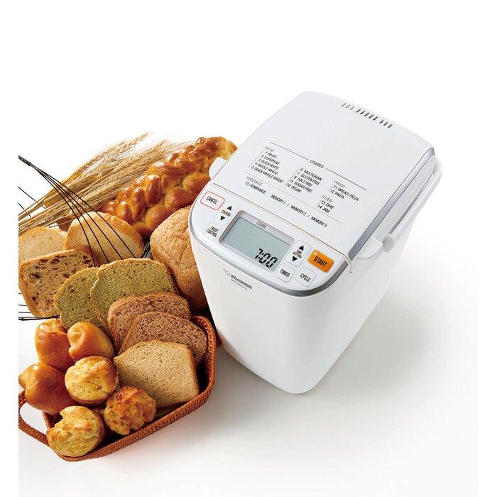 Zojirushi BB-SSC10-WZ Home Bakery Maestro Breadmaker Premium White