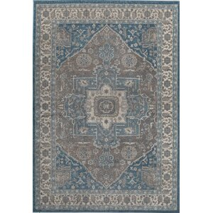 Estelle Frisson Gray/Blue Area Rug