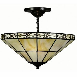 Powe 2-Light Bowl Pendant by Astoria Grand