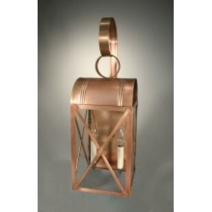 Price comparison Adams 1-Light Outdoor Wall Lantern By Northeast Lantern