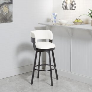 Butz Adjustable Height Bar Stool Williston Forge