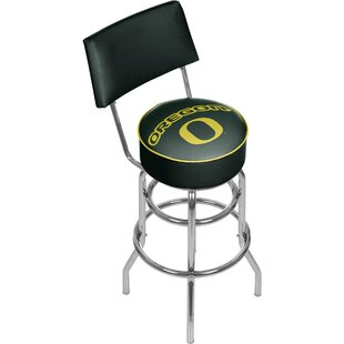 University of Oregon 31 Swivel Bar Stool Trademark Global