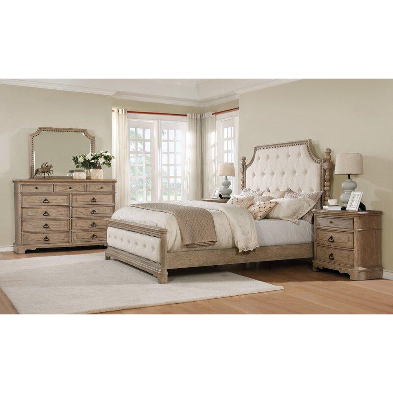 One Allium Way Pennington Platform 5 Piece Bedroom Set Reviews