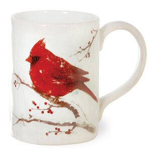 Burges Cardinals Dolomite Mug (Set of 2)