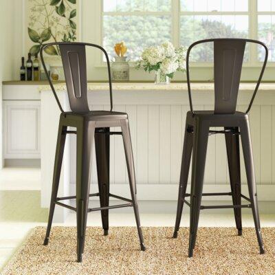 Admirable Trent Austin Design Sroka 30 Inch Bar Stool Squirreltailoven Fun Painted Chair Ideas Images Squirreltailovenorg
