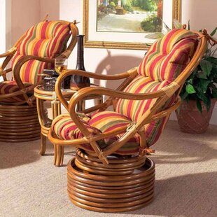 Boca Rattan Delta Swivel Loung..