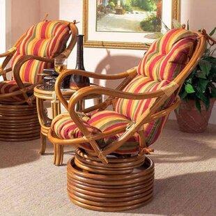 Boca Rattan Delta Swivel Lounge Chair