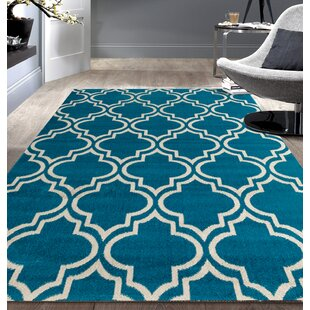 Newport Blue/Beige Area Rug by World Rug Gallery