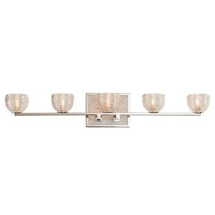 Kalco Bianco 5-Light LED Vanity Light