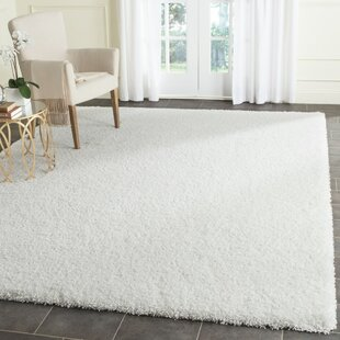 Price comparison Vandoren White Area Rug By Wrought Studio