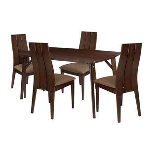 Ebern Designs Octavius 5 Piece Dining Set