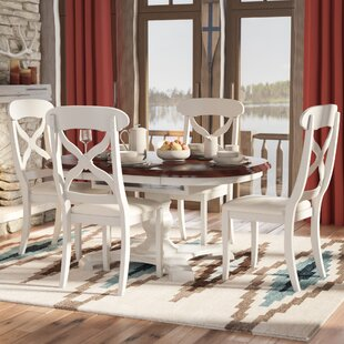 Ediline Butterfly Leaf 5 Piece Dining Set