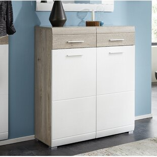 Verda 16 Pair Shoe Storage Cabinet By Metro Lane