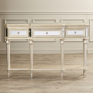 Poston 3 Drawer Console Table