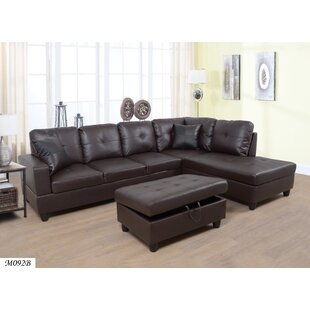 Maleah Sectional with Ottoman