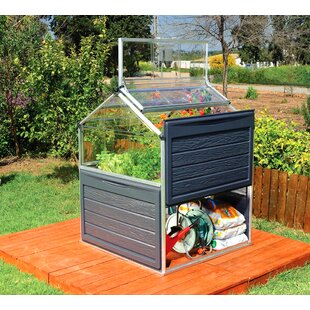 Palram Plant Inn 4 Ft. W x 4 Ft. D Mini Greenhouse