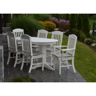 Red Barrel Studio Nettie 7 Piece Dining Set