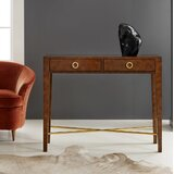Modernist 40 Solid Wood Console Table by Modern History Home