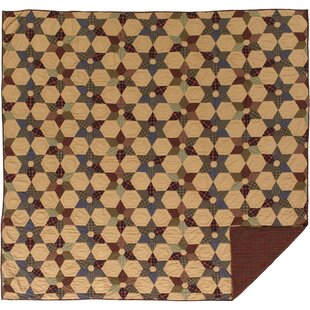 Deuxville Star Quilt by August Grove Great Reviews