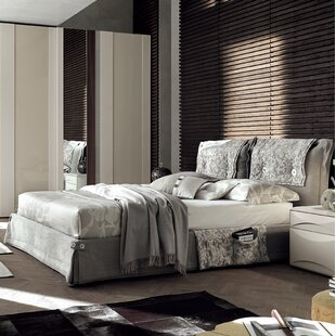 YumanMod Amami Upholstered Panel Bed