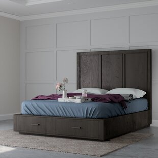 Mifley Wooden Storage Platform Bed