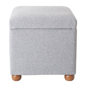 Bement Storage Cube Ottoman by Alcott Hill