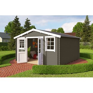Benoit 14 X 13 Ft. Tongue & Groove Summer House By Sol 72 Outdoor