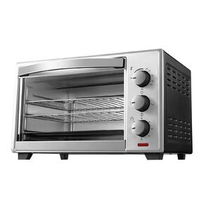 0.74 Cu. Ft. 6 Slice Convection and Rotisserie Countertop Toaster Oven