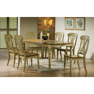 Corell Park 7 Piece Solid Wood Dining Set by Alcott Hill