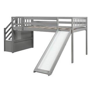 Baeumel Twin Low Loft Bed