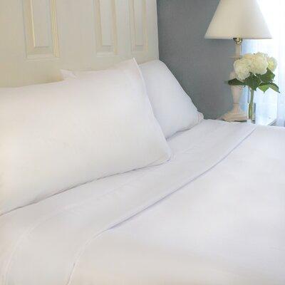 Cozy Bed Sheet Set Colour: White, Size: Twin XL