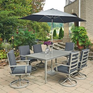 South Beach 9 Piece Dining Set With Cushion